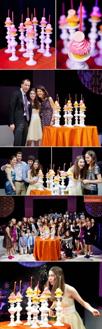 110 best barbat mitzvah candle lighting customs and traditions holders for candle lighting ceremony using cupcakes julie haber gendler aloadofball Choice Image