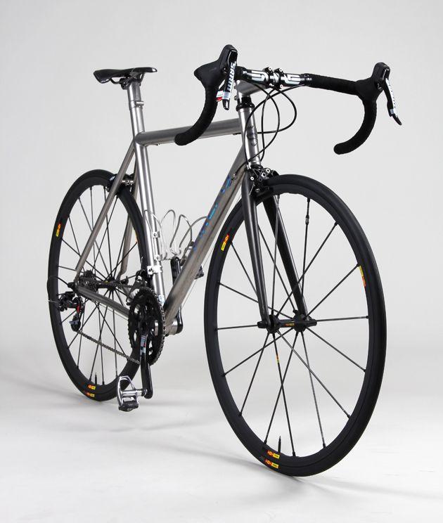Firefly custom titanium road bike