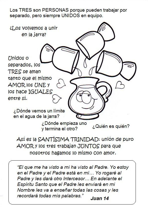 La Catequesis: Recursos Catequesis Santísima Trinidad