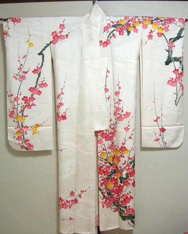 Vintage Kimono, Furisode (Spring)