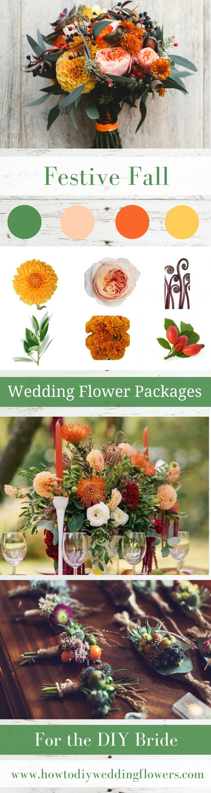 Wedding trends Fall Flower Packages trend Buy DIY Wedding Flowers Package online wholesale cost amaranthus rose crown 2018 #fallweddingflowers #fallweddingideas #fallwedding