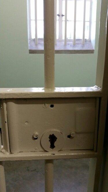 Robben Island cell Block B