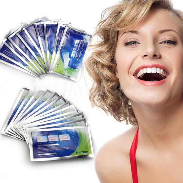 Practical 28 PCS Professional Home Teeth Whitening pills Strips Tooth Bleaching Whiter Whiter strips HL4