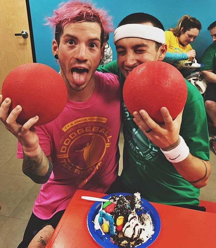 This is how Tyler spent his birthday - they are just so adorable