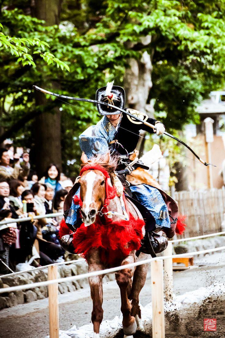 Yabusame, Japanese horse archery