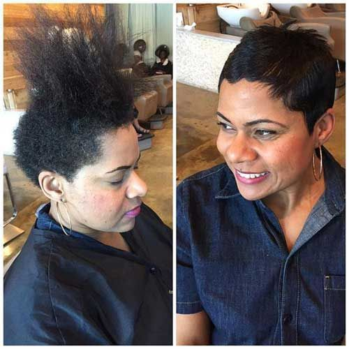 Pin On Afro Hairstyles Short