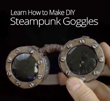 DIY Steampunk Goggles | Craft Ideas & DIY Tutorials ...