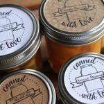 Lady Face Blog Canning Jar Labels