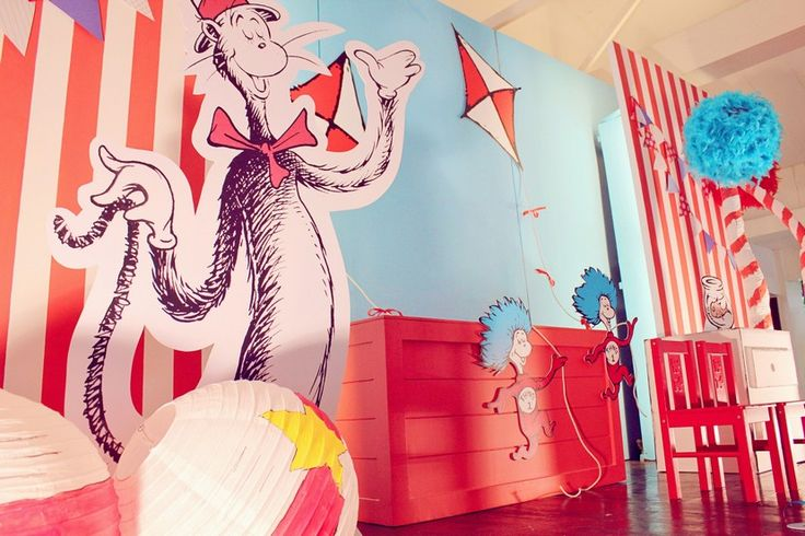 Xavi Dychiao's Cat in the Hat Party! Party Stylist: Party Magic by Michell Lao