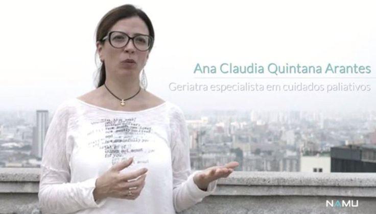 Para a geriatra e especialista em cuidados paliativos Ana Claudia Quintana Arantes, lidar com a morte nos ensina a aproveitar melhor o tempo.- produção Namu.