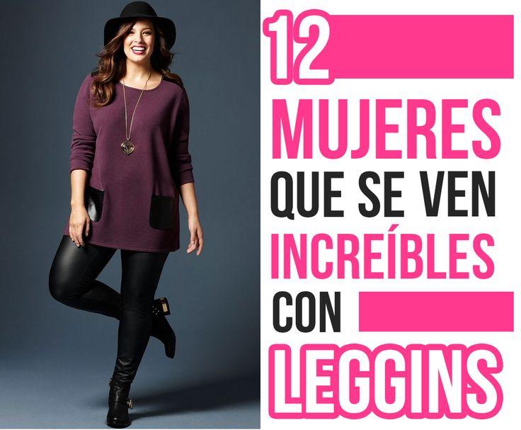 12 mujeres que se ven increíbles con leggins #HOT