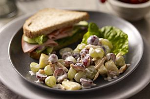 Luscious Grape Salad recipeFun Recipe, Fruit Salad, Chicken Salad, Luscious Grape, Salad Recipe, Salad Allrecipescom, Healthy Desserts, Grape Salad, Drinks Recipe