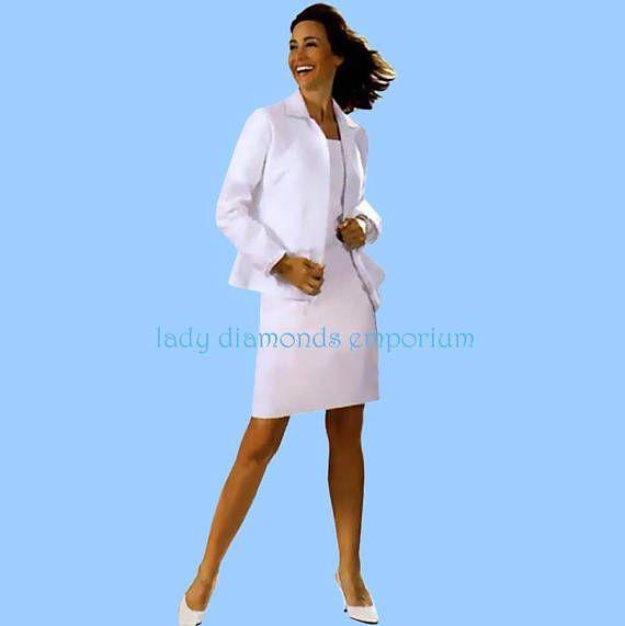 Burda 7967 Womens Shirtdress Tunic Jacket Shirt size 10 12 14