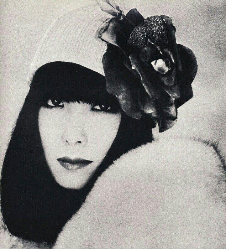 Shiseido ad, 1973 Model Sayoko Yamaguchi
