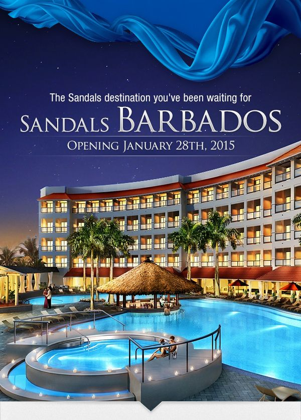 Introducing Sandals Barbados - the only all-inclusive ...