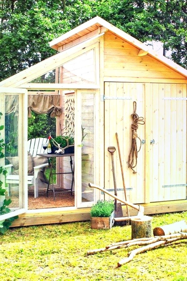 Kreative Gartenhaus Umgestaltungsentwurfe Fur Ihren Gartenaussenraum Garten Fur Garten Gartenaussenraum Gartenhausumg Garten Im Freien Garten Gartenhaus