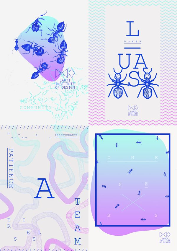 ANT & DESIGN by SEEMONA ., via Behance