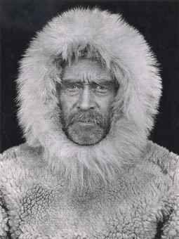 Robert Peary, Self-Portrait, Cape Sheridan, Canada, 1909