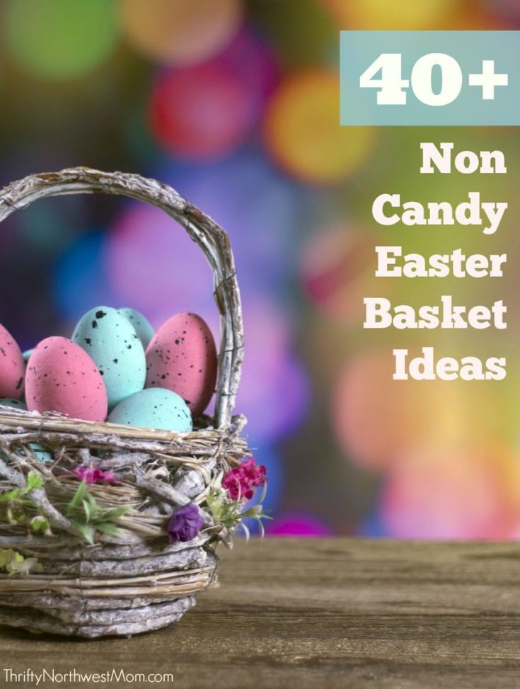 86 best easter crafts and recipes images on pinterest easter 40 non candy easter basket ideas for all ages negle Gallery