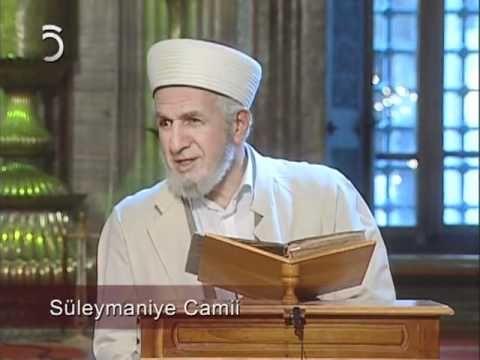 Prof. Dr. Cevat Akşit Hoca   Süleymaniye Dersleri [9]   TV5  www.dampakt.com