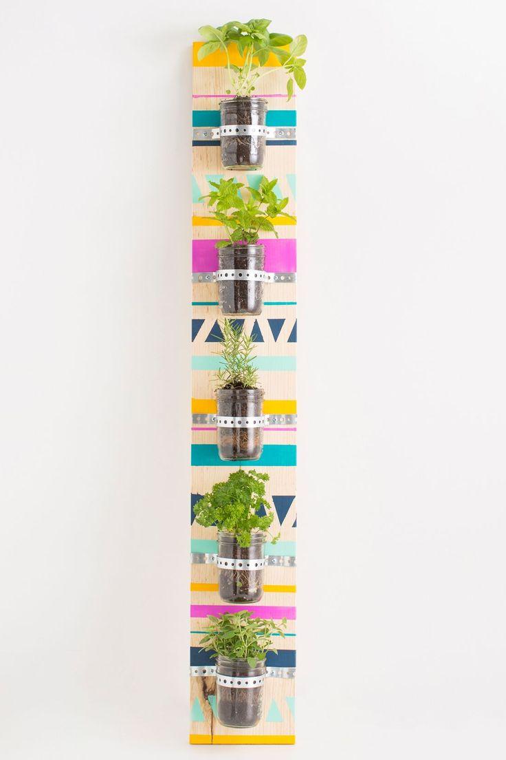 DIY: vertical herb garden