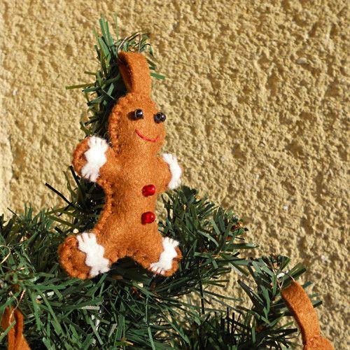 Perníček - ozdobička na stromeček