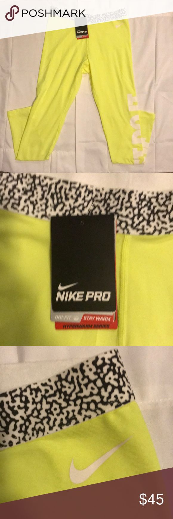 Nike Athletic Running Leggings Brand new Nike Running Leggings! Excellent condition and great material! Nike Pants Leggings