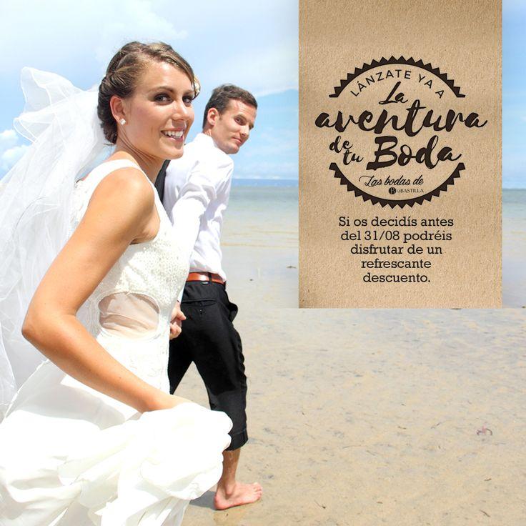 ¿Estás pensando en casarte próximamente? Decídete antes del 31 de agosto y ¡consigue gratis tu barra libre de mojitos o un descuento equivalente!