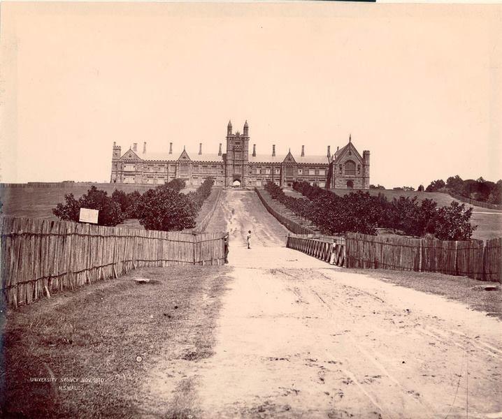 Sydney University 1870 x State Library NSW