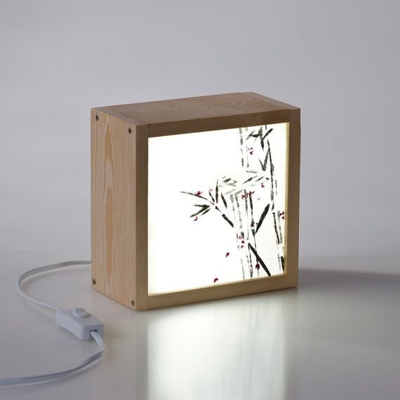 Light Box Bamboo by kitkasa on Etsy