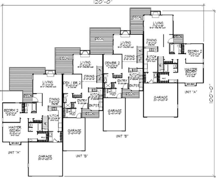Modern Style House Plan 1 Beds 2 Baths 4720 Sq Ft Plan
