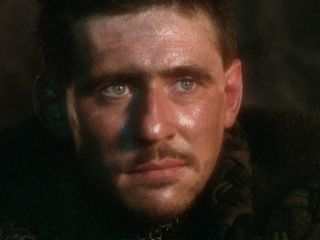 Gabriel Byrne in Excalibur This was the first time I saw this face and fell head over heels all those long years ago.