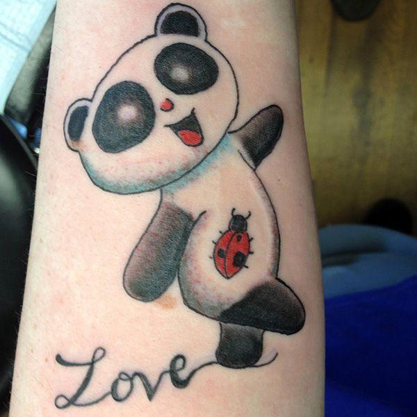 362 best panda tattoos images on pinterest panda tattoos tattoo ideas and tattoo designs. Black Bedroom Furniture Sets. Home Design Ideas