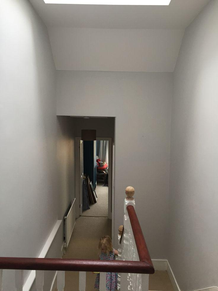 Dulux polished pebble in hallway