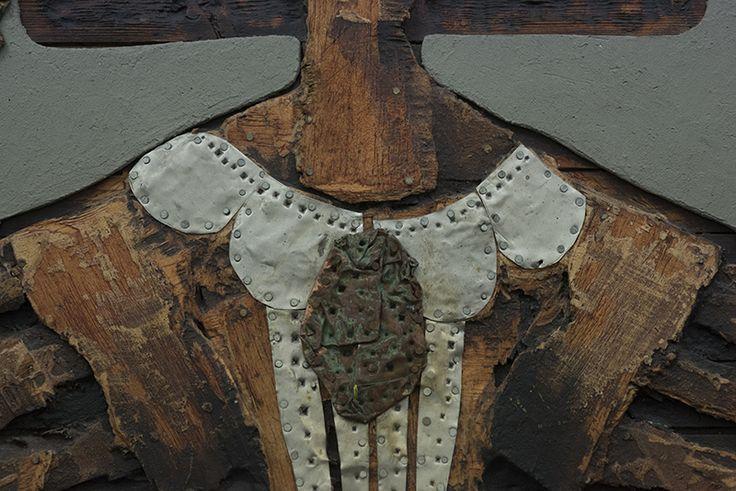 "Picture: ""Menina wood 2"". Detail 1."