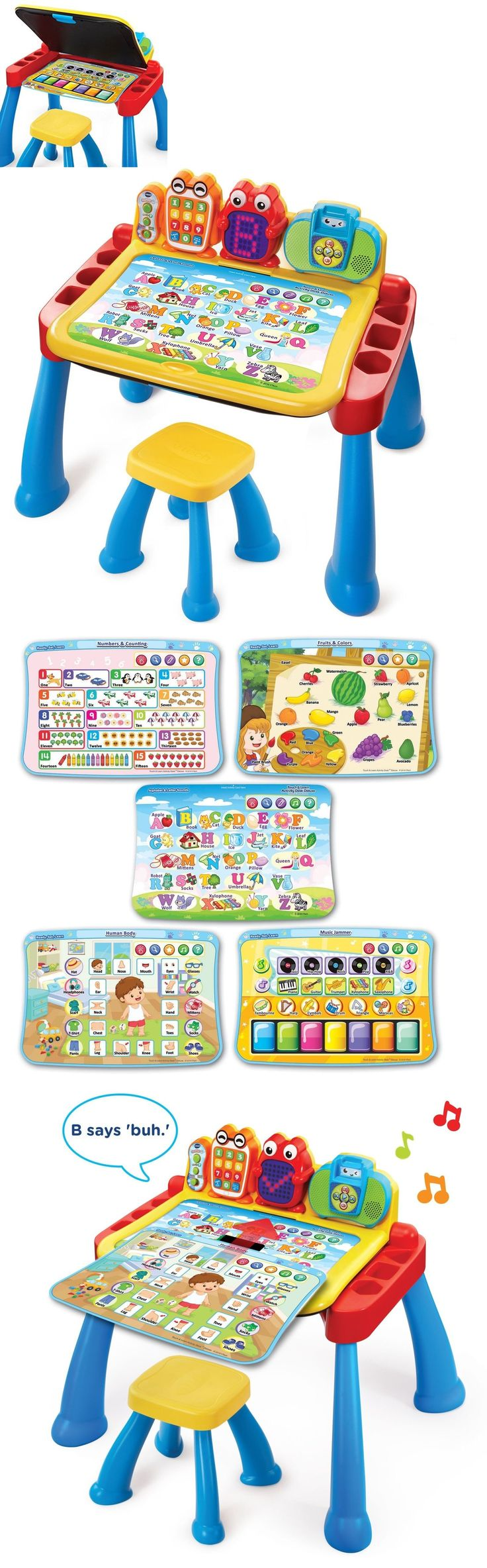 Learning Systems 158695: Vtech Learning Play Touch Learn Activity Toddler Desk Educational Table Kids Toy -> BUY IT NOW ONLY: $55.34 on eBay!