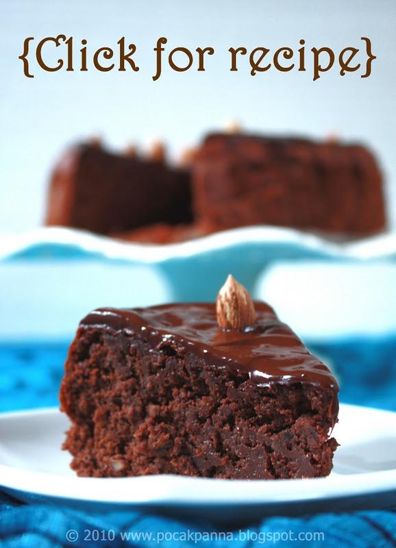 Flourless Deluxe Chocolate-Hazelnut Cake - Nutella dream!