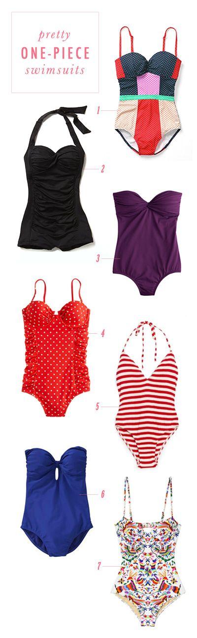 7 beautiful, retro swimsuits