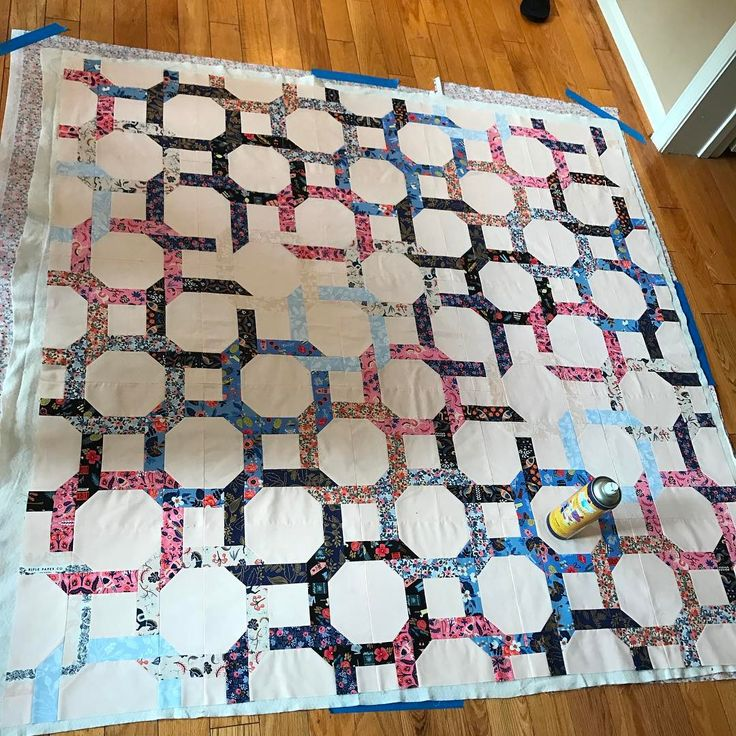 Finally getting this one quilted! The master baster joke never gets old, does it?