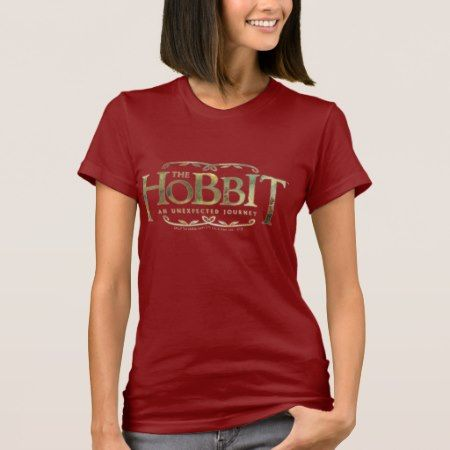 The Hobbit Logo Green T-Shirt - click to get yours right now!