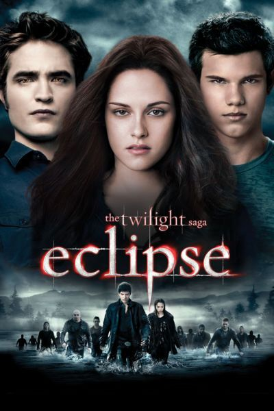 Danger once again surrounds Bella (Kristen Stewart), as a string of mysterious killings terrorizes Seattle and a malicious vampire continues her infernal quest for revenge. Amid the tumult, Bella must choose between her love for Edward (Robert Pattinson) and her friendship with Jacob (Taylor Lautner), knowing that her decision may ignite the long-simmering feud between vampire and werewolf.