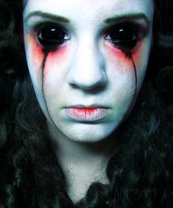 43 best images about Demon Makeup & FX Contacts on ...  Demon Halloween Makeup