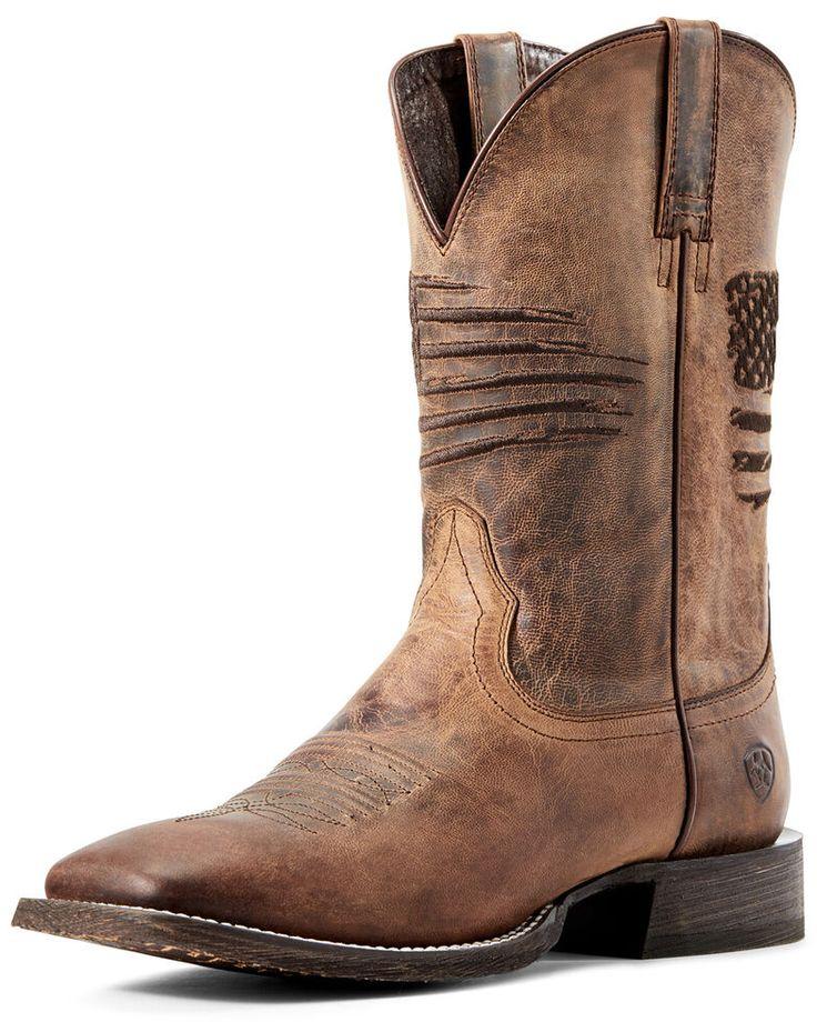 Durango Men/'s Rebel Desert Camo Dusty Brown Square Toe Boots DDB0166