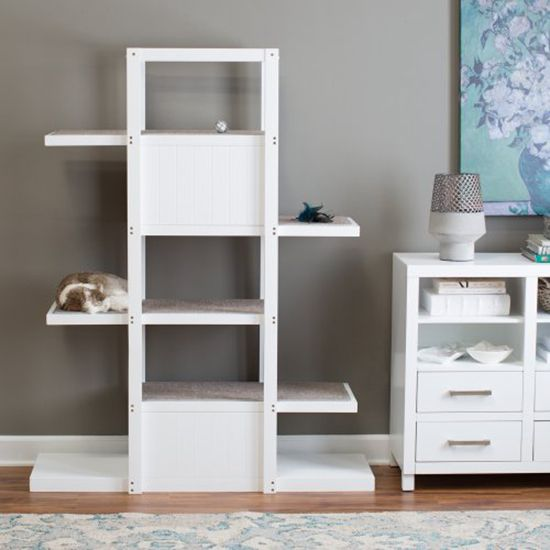 Modern Bookshelf Cat Tree - great new (and reasonably priced) piece of design by Boomer & George, spotted by @hauspanther