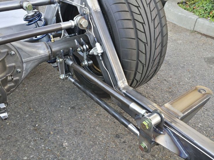 Triangulated 4 Link Suspension Scotts Hotrods