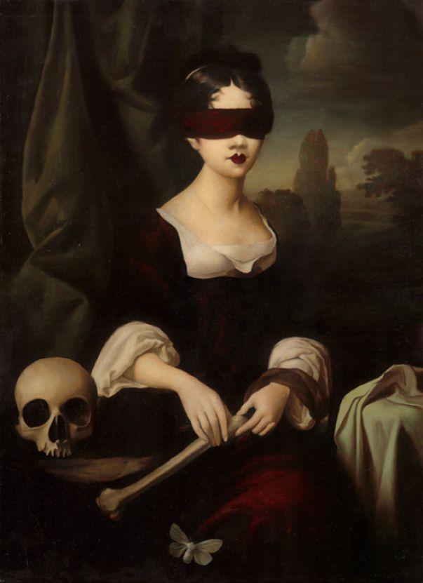 'Seance' by British artist Stephen Mackey