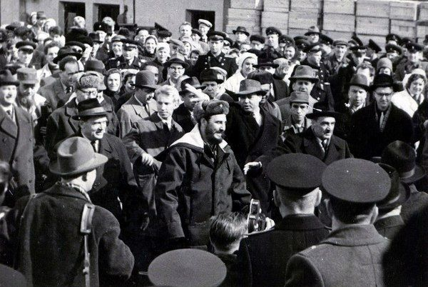 Фидель Кастро в Мурманске. Фидель Кастро, мурманск, старое фото
