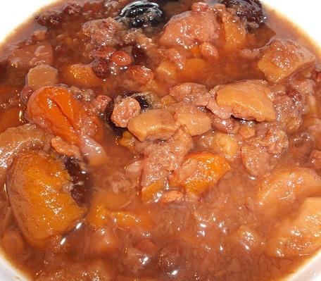 Un plato dulce para comer de postre, la compota de manzana y pera, en https://twitter.com/CasaKatyBilbao