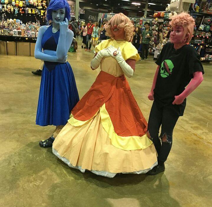 Steven Universe Jail Break Sapphire Blue Gown Dress