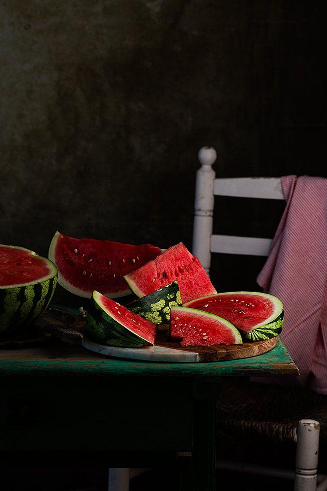 National Watermelon Day; August 3. (by Raquel Carmona)